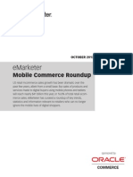eMarketer Mobile Commerce Roundup