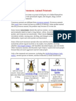 Venomous Animal Printouts.doc