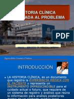 1.1 HISTORIA CLÍNICA ORIENTADA AL PROBLEMA