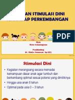 Peranan dan Stimulasi Dini terhadap Perkembangan Anak