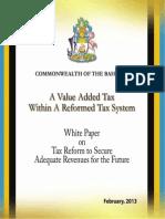 Bahamas VAT White Paper