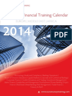 euromoney financial training calendar 2014