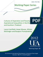 Cultures of Aspiration and Poverty? Aspirational Inequalities in Northeast and Southern Thailand  Laura Camfield, Awae Masae, Allister McGregor and Buapun Promphaking
