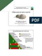 formulacões de fertilizantes
