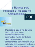 Nocoes Basicas Para Instrucao e Iniciacao No Aeromodelismo