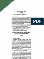 Decreto Legislativo 1090 - Gobierno del Perú