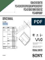 Vaio PCG-K35 Service Manual