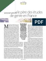 Bourdieu. Le pere des etudes de genre en France