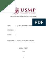 Quimica Inorganica Sra. Pilar