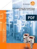 Ifm Temperature Sensors TD Brochure France 2013