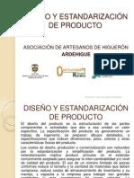 Diseño y estandarizacion de producto (documento)