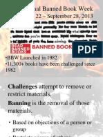banned book presentation 2013 14