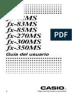 Manual Casio FX