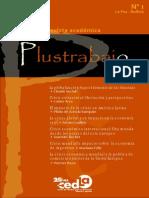 Plustrabajo Nº 1 Revista Académica de CEDLA