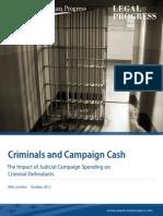 Criminals and Campaign Cash