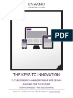 The Keys to Innovation- Future Friendly and Responsive Web Design