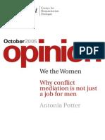 Potter,Antonia WetheWomen Whyconflictmediationisnotjustajobformen(2005)