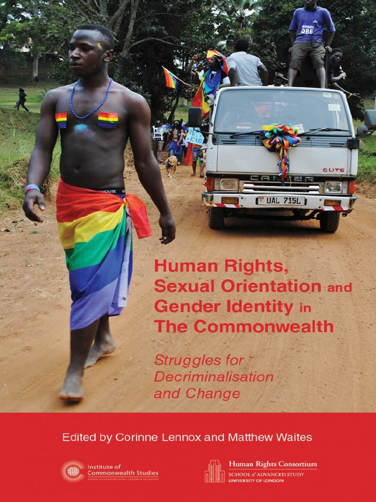 human rights sexual orientation and gender identity in the human rights sexual orientation and gender identity in the commonwealth