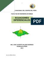 Texto Ecuaciones Diferenciales 2012-II