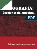 Ortografía Quechua