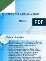Kapasitor Dan Rangkaian RC