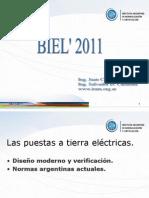 Las Puestas a Tierra Electricas Diseno Moderno y Verificacion- Normas Argentinas Actuales
