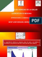 Clase No. 1 Introducción a la inmunología