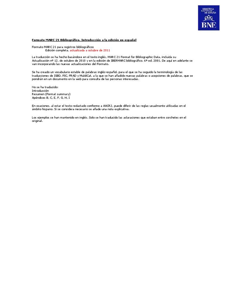 manual_marc21 traduccin_bne