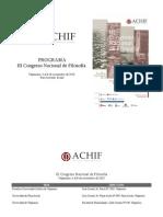 Programa IIICNF 23oct