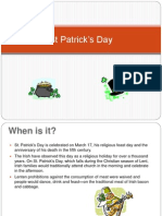 English St Patrick sDay