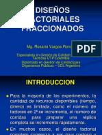 Cap VII.Diseños factoriales fraccionales.ppt