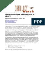 Synchronous Digital Hierarchy.docx