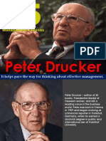 25 Management Lessons by Peter Drucker