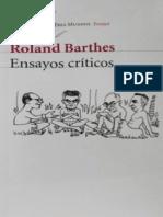 Roland Barthes - Ensayos-Criticos