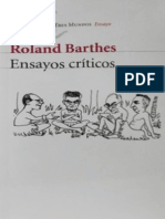 Roland Barthes - Ensayos-Criticos