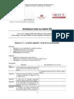 TD 1 Introduction Au Droit 2013-14