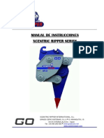 Xcentric Ripper Series Instruction Manual Spanish