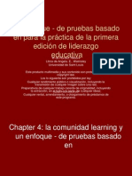 CH04-Chapter 4 The Learning Community and an Evidence-Based Approach - Traducción finalizada