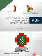 Ley Marco de Autonomias Bolivia