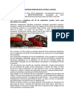 2010 - Perfil Psicologico de Chavez