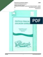 ANUIES ALEJANDRO MUNGARAY LAGARDA POLITICAS PUBLICAS Y EDUCACION SUPERIOR.pdf
