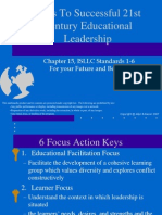 Chapter15-Keys to Successful 21st Century Educational Leadership--IsLLC Standards 1-6