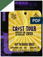 CAST 2013 Program