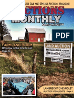 November 2013 Issue of Auctions Monthly Magazine