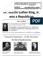 Dr. Martin Luther King, Jr. was a Republican - NBRA
