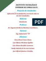 Proyecto de Simulacion - Mi Cine Comalcalco