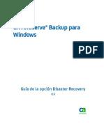 CA ARCserve Backup para Windows Guía de la opción Disaster Recovery R16