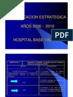 PLANIFICACION ESTRATEGICA HBV 2006-2010