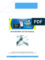 appointment setter manual