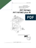 instructiuni tehnice masina tencuit  pft ritmo.PDF
